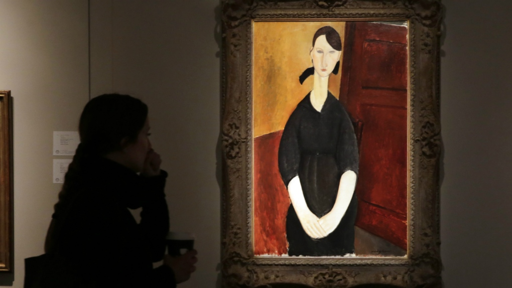 Modigliani painting auctioned off