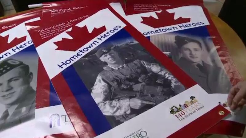 veterans banners