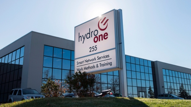 Hydro One office in Mississauga, Ont.