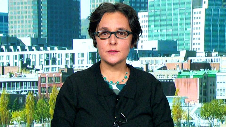 Gabriella Coleman speaks to CTV News Channel, Nov. 5, 2015.