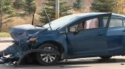 CTV Kitchener: Four-car crash in Waterloo