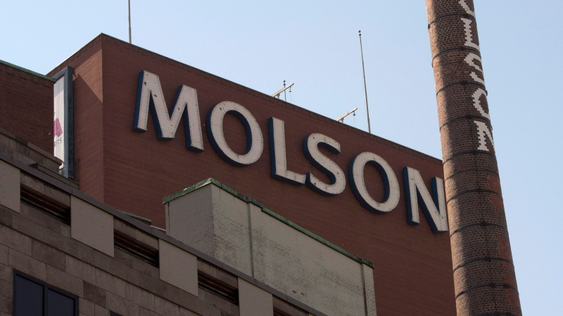The Molson Coors brewery in Montreal is seen on Wednesday, June 3, 2015. (Ryan Remiorz/The Canadian Press)