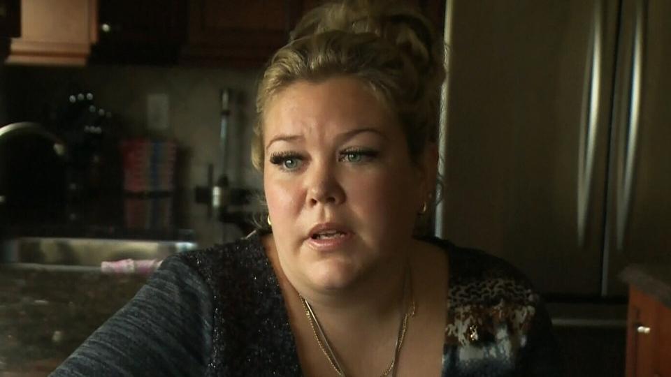 Aimee Hubble, denied a survivor's benefit