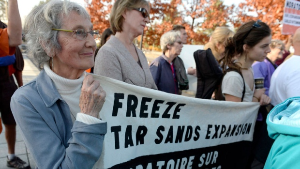 Climate Welcome Sit-In Rideau Hall