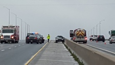 Highway 401 fatal crash