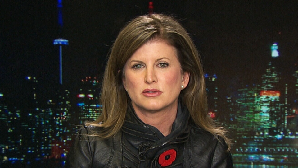 Interim Conservative leader Rona Ambrose speaks to CTV Power Play from Toronto, on Friday, Nov. 6, 2015.