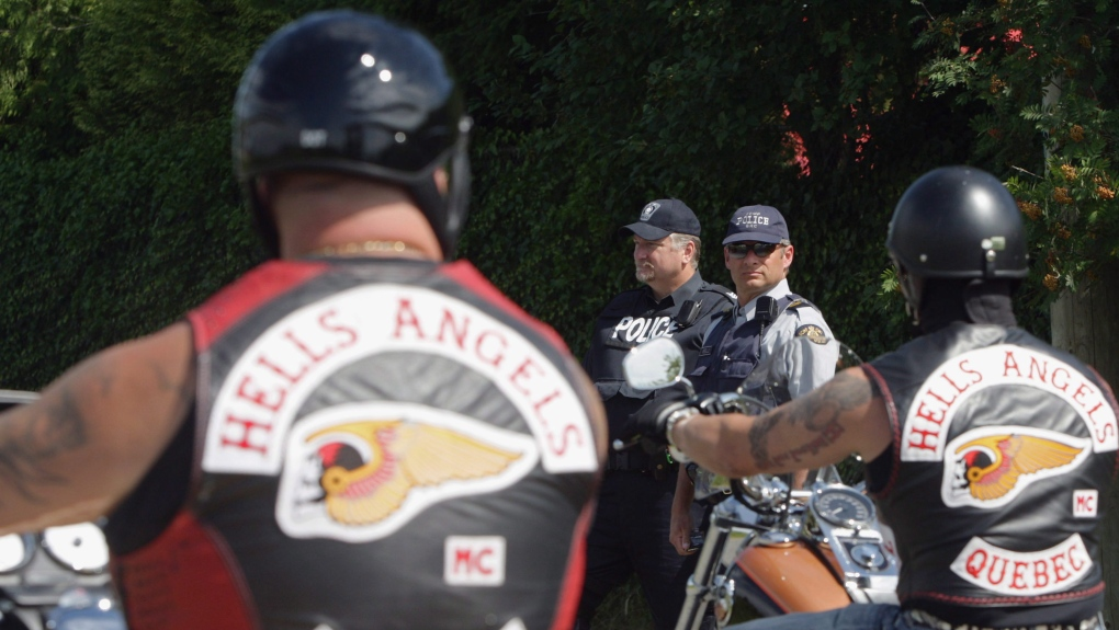 Pictures party hells angels A party