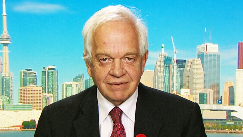 Immigration Minister John McCallum appears on CTV News Channel on Saturday, Nov. 7, 2015.