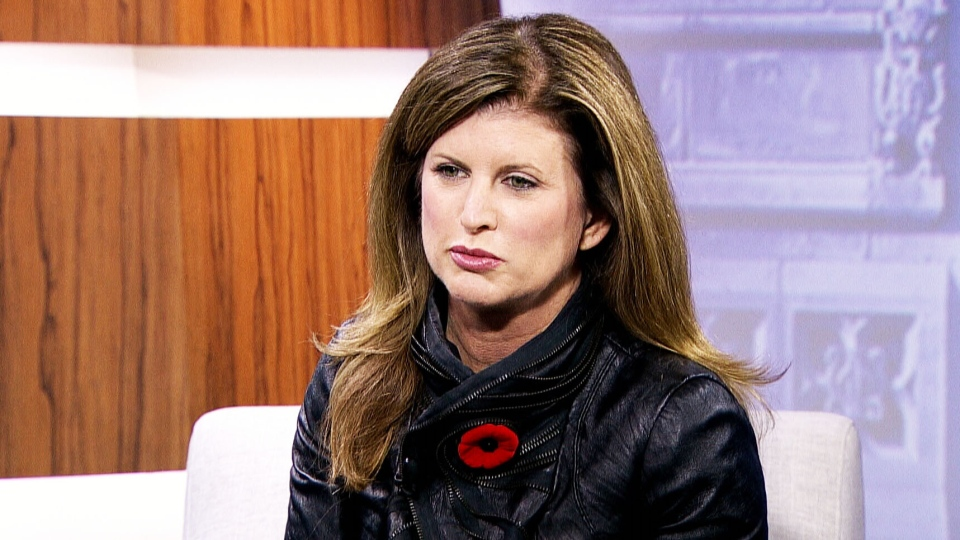 Conservative Interim Leader Rona Ambrose appears on CTV's Question Period on Sunday, Nov. 8, 2015.
