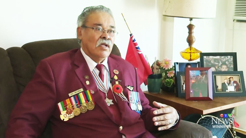 Joseph Meconse, an aboriginal veteran who joined the military decades ago at the age of 20, says he has been shown recognition for his decade of service.