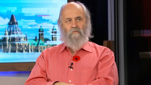 Jake Rice, Chief Scientist at the Department of Fisheries and Oceans, speaks to Don Martin on CTV Power Play, on Monday, Nov. 9, 2015.