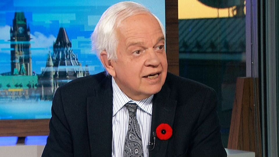 Immigration, Refugees and Citizenship Minister John McCallum appears on Power Play on Nov. 9, 2015.