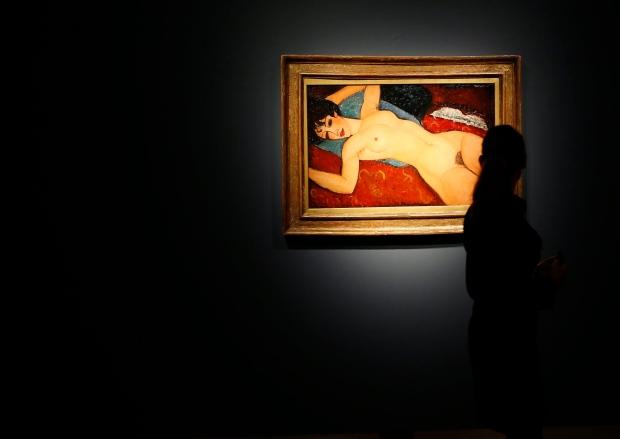 Modigliani's Reclining Nude