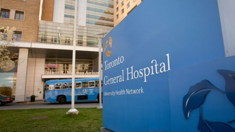 The Toronto General Hospital is pictured in Toronto on April 19, 2010. (Francis Vachon / THE CANADIAN PRESS)