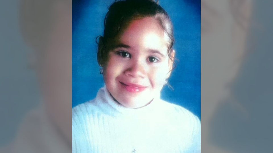Katelynn Sampson, 7, is shown in a family photo.