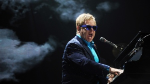 British singer Elton John. (AFP PHOTO / DOMINIQUE FAGET)