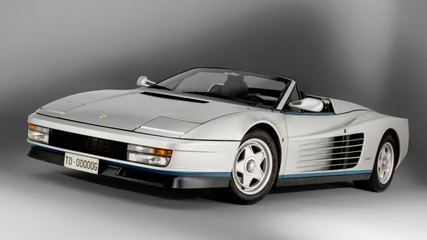 Ferraris Unique Testarossa Spider To Be Auctioned Off Ctv News