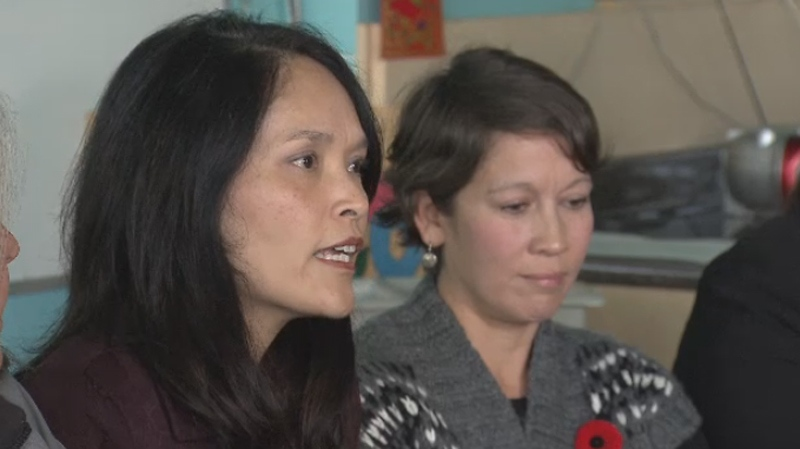 MP Jenny Kwan said she spent most of her seven days of a Welfare Food Challenge hungry. Nov. 9, 2015. (CTV)
