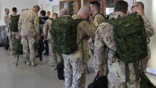 Canadian Forces deploy from CFB Trenton