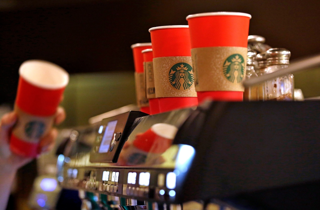 Starbucks red cups cause outcry