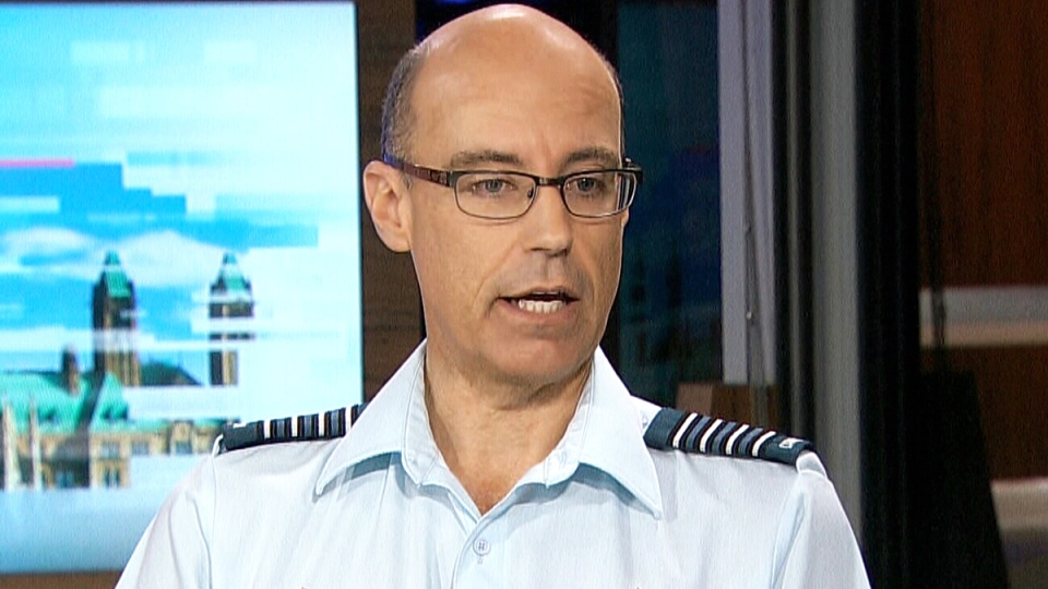 Col. Andrew Downes, the Canadian Armed Forces' Director of Mental Health, appears on CTV Power Play on Tuesday, Nov. 10, 2015.