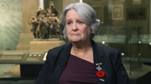Sheila Anderson is in Ottawa for Wednesday's Remembrance Day ceremonies at the National War Memorial, where she'll represent all grieving parents as this year's Silver Cross Mother.