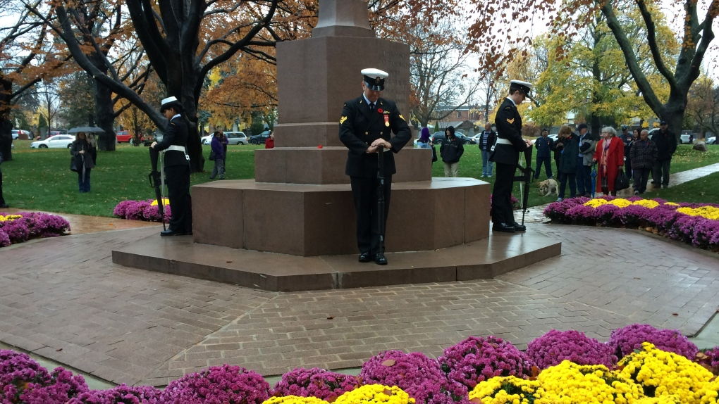 Remembrance Day in Toronto