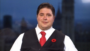 Veterans Affairs Minister Kent Hehr appears on CTV's Canada AM on Wednesday, Nov. 11, 2015.