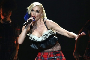 In this Oct. 17, 2015, file photo, Gwen Stefani performs during an exclusive concert for MasterCard cardholders at the Hammerstein Ballroom in New York. (Greg Allen/Invision/AP)