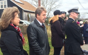 Former NDP MP Peter Stoffer attends a Remembrance Day ceremony in Halifax on Nov. 11, 2015. (CTV News / Kayla Hounsell)