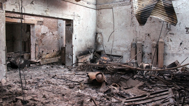 Aftermath of bombing on Kunduz hospital