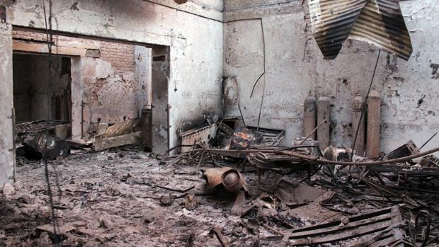Aftermath of bombing on Kunduz hospital