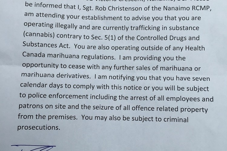 Cannabis crackdown: Nanaimo pot shops raided by RCMP | CTV Vancouver ...