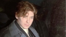 Paul Bernardo is shown sitting in the back of a police cruiser as he leaves a hearing in St.Catharines, Ont., in this file photo. THE CANADIAN PRESS/Frank Gunn