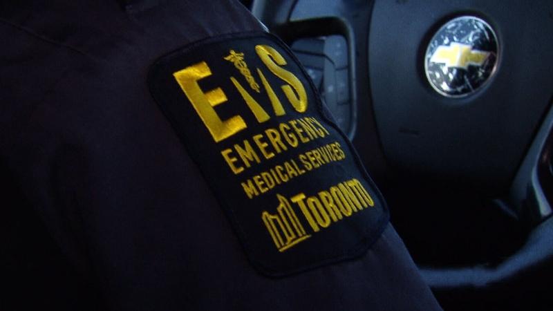 A Toronto paramedic's uniform is shown.