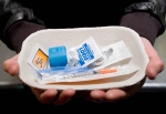 An injection kit is shown at a safe injection facility in 2008. (Jonathan Hayward/THE CANADIAN PRESS)