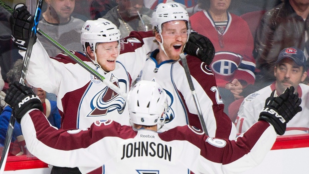 627c9b9de89 MacKinnon scores twice to boost Avalanche over Habs 6-1