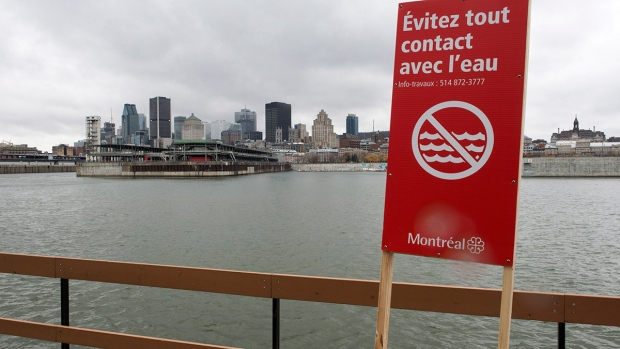Sewage dump into St. Lawrence River ends