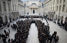Paris moment of silence