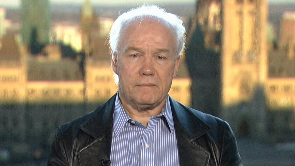 Peter Showler speaks to CTV's Canada AM from Ottawa, Nov. 16, 2015.