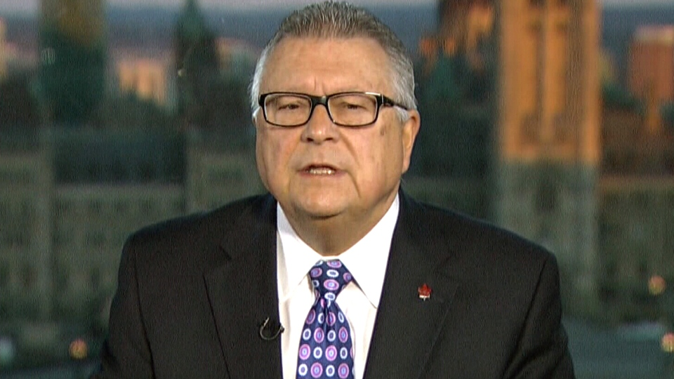 Public Safety Minister Ralph Goodale speaks to CTV's Canada AM, Nov. 16, 2015.