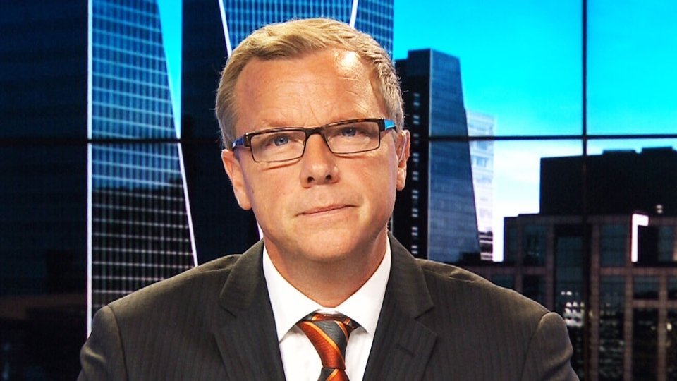 Saskatchewan Premier Brad Wall appears on CTV's Power Play on Monday, Nov. 16, 2015.