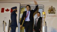 Trudeau arrives for APEC summit