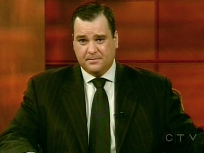 Heritage Minister James Moore appears on CTV's Question Period from Vancouver, on Sunday, Dec. 7, 2008.