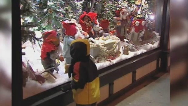 Snow White Christmas display