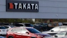 The North American headquarters of automotive parts supplier Takata in Auburn Hills, Mich. on Oct. 22, 2014. (AP / Carlos Osorio)
