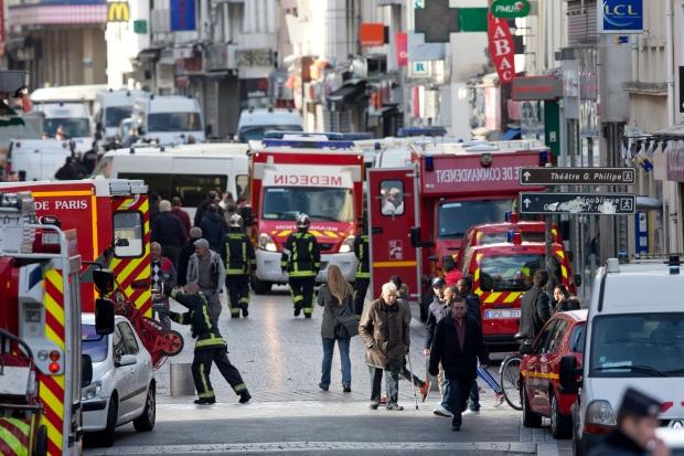 Saint-Denis raid near Paris
