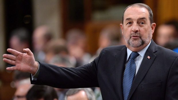 Denis Lebel in House of Commons