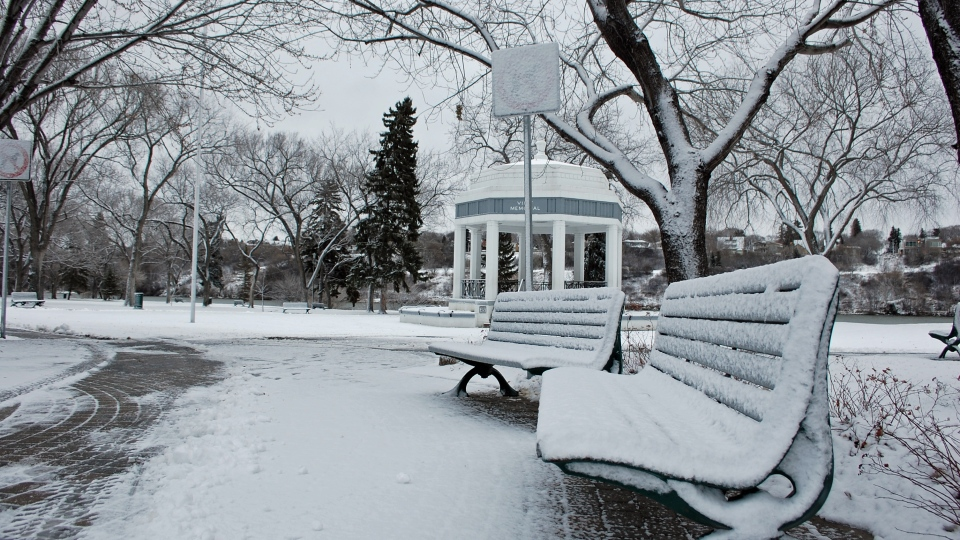 Snow - Kiwanis Park - Saskatoon