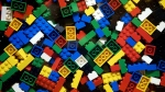 An undated photo from files showing pieces of Lego. (Thomas Borberg / Polfoto / AP)